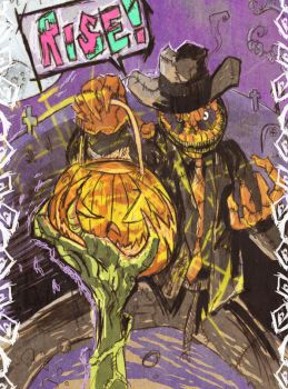 Mister Halloween by Fishcat101 by TheSteampunker