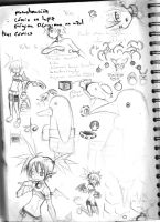 Sketch Page  Number 7 by iJate