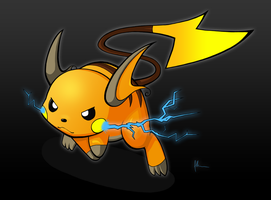 Raichu by kitty-23