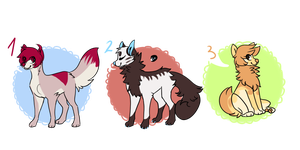 ADOPTABLEs [cLOSED] by iyd