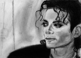 Michael Jackson-pencil by Zakimiya