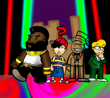 EarthBound - Invisible Man by soupaboy