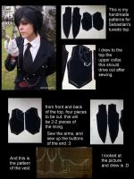 Tutorial for my Sebastian's top by nekoshoujo15