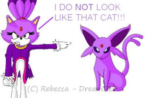 Purple Cat - Old by DreamBex