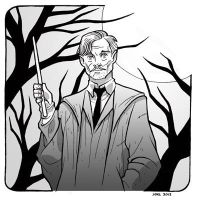 Remus Lupin by JoelRCarroll