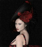 Ladies in red : The fancy hat by Odilicious