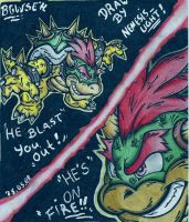 bowser the koopaking by I-CyBeR-NeTiCs-I