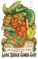 Long Beach Comic Con Poster 2015 by paigehwarren