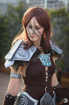 Aela the Huntress - Skyrim by Fin-Cosplay