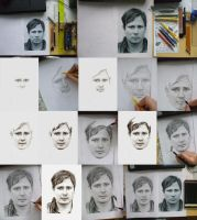 how to draw Tom Delonge by SusHi182