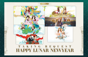 [REQUEST] HAPPY LUNAR NEW YEAR 2015 by MinBoyVSoneshowroom