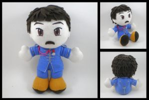 Paul Mccartney plush by eitanya
