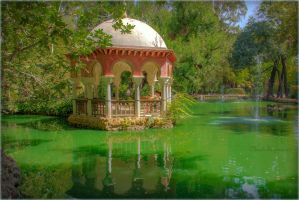 Sweet Wandering  Around the Gardens - Seville by Cloudwhisperer67