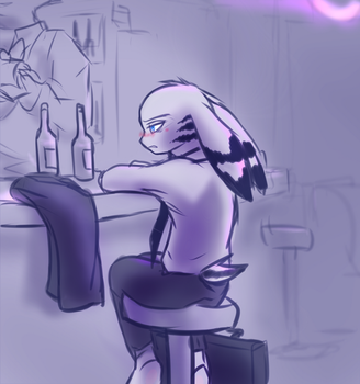 Tired and Drunk by oLEEDUEOLo