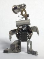 Crazy little robot by photozz