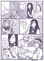 Tokyo Ghoul : re fancomic page 1 by lanternlovers