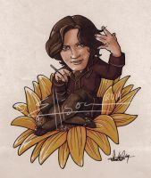 Oscar Wilde - Sunflower Final by Marker-Mistress