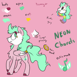 Neon Chords Reference Sheet by NicoTheMintyRabbit