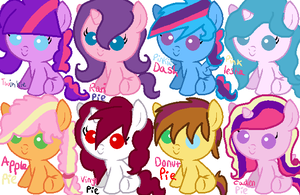 Pinkie Pie Shipping Adopts (2 LEFT) by Utsukushii-Eli