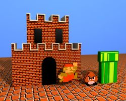 Super Mario Bros by defkoul