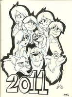 Character Group Shot 2011 by Minxie777