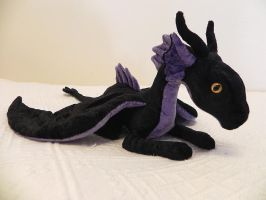 Maleficient plush by YikYik