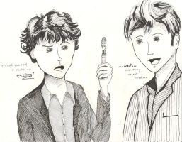 Everything SherlockBBC x DW by celina-tamwood