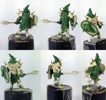 Demonspown miniature by willytheraccoon