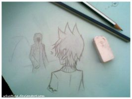 _Akuroku_at_school_2 by WhaTTina