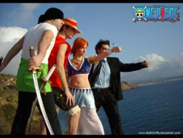 Mugiwara crew by Tifa82Miffy