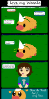 I Love My Weedle by Amulet-Voltaire