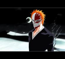 Hollow Ichigo by zikol