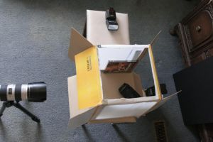 My softbox set-up by duronboy