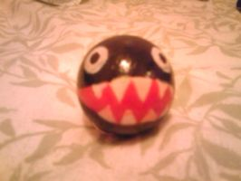 Chain Chomp Keychain by ToxicThunder