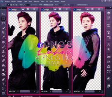 Pack Png  Luhan (EXO) by USucks