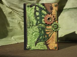 Steampunk  Journal Cover by SensiArts