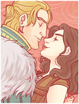 I don't know if I should kiss you, or strangle you by naomi-makes-art73