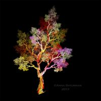 fractal tree 41 by Alvenka