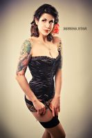 Faded Pinup by OfficialSerenaStar