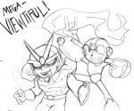 This Sketch is Mega Viewtiful by rugdog
