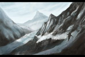 Mountain Pass by LauraTolton