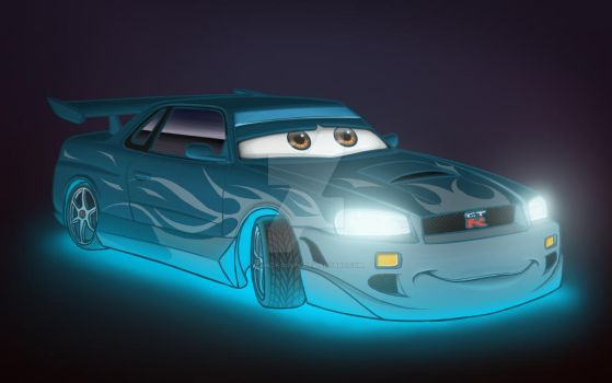 Blue Beast by Candy-Coupe