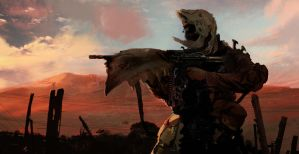 The Skull Soldier by ellinsworth