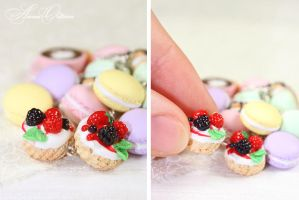 French desserts - Tartelette by OrionaJewelry