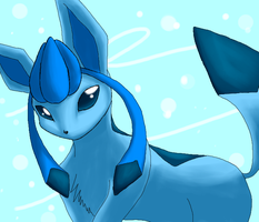 Glaceon by Raoud