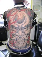 ONI BACKPIECE by Dreekzilla