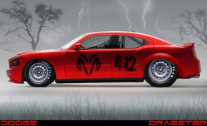 Dodge Dragster by Vipervelocity