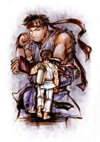 Ryu Street Fighter by sonialeong