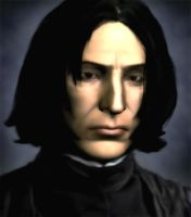 Potions Master Severus Snape by Cyber-Materia
