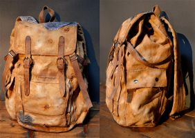Joel's backpack - The last of us by Nerdbutpro